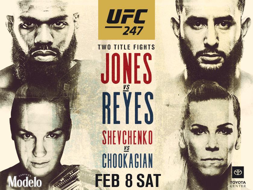 UFC 247 Feb 8th,2020 @6:30pm