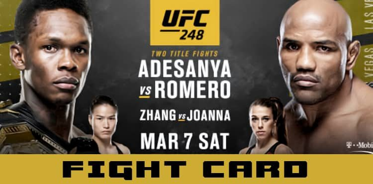 UFC 248 March, 7th,2020 at 7pm