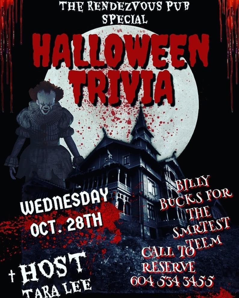 Wednesday Night Halloween Trivia